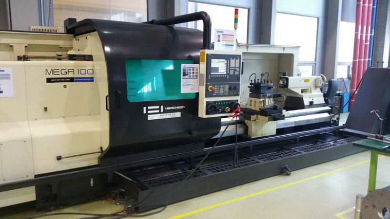 Used 2008 hwacheon mega