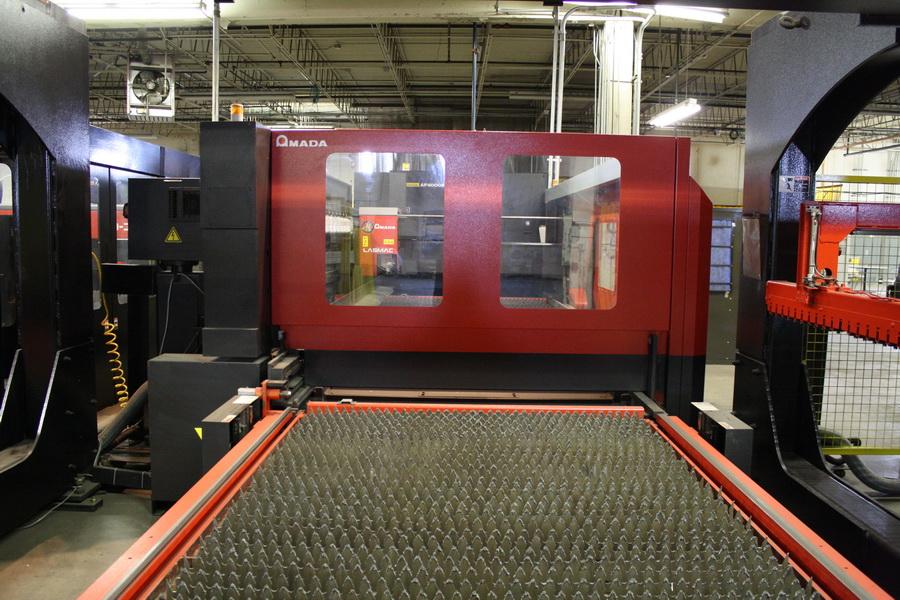 Amada FO 3015 NT Laser Cutter