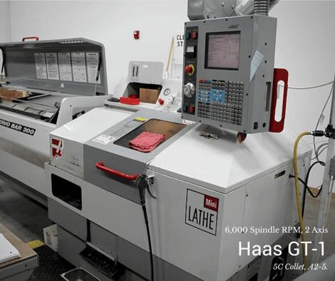 Used CNC Machine-Haas GT1