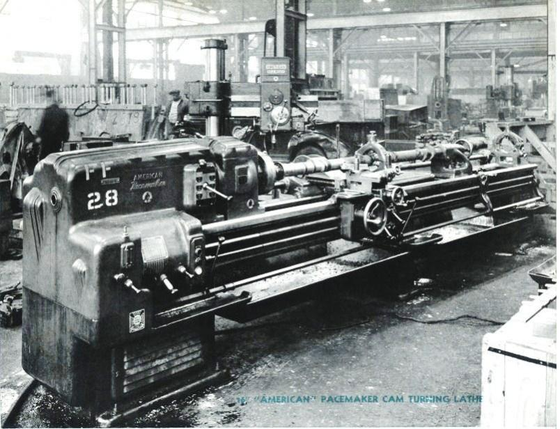 A 1920s Industrial Lathe